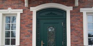 Drzwi zewnętrzne dębowe