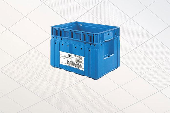 Plastikowe pojemniki dla przemysłu
